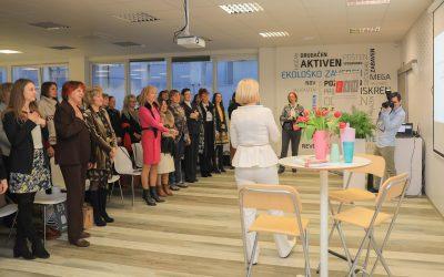 Srečanje društva FAM v podjetju SKAZA v Velenju